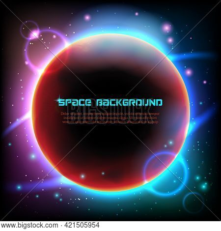 Cosmos Space Universe Celestial Bodies Decorative Computer Screen Luminous  Wallpaper Screensaver Bl