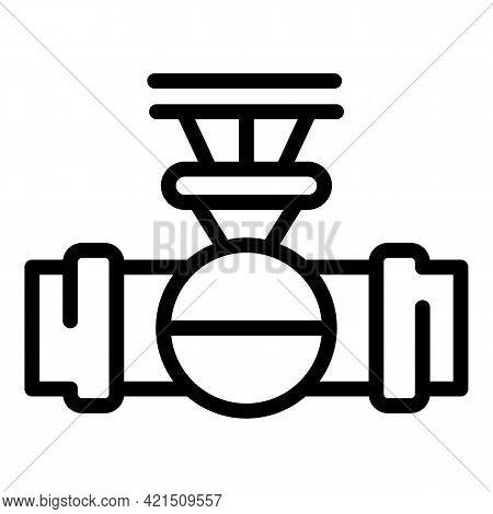 Tap Water Icon. Outline Tap Water Vector Icon For Web Design Isolated On White Background