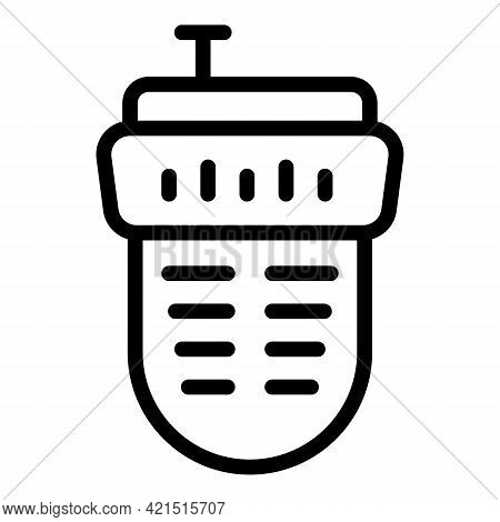 Electronic Laser Meter Icon. Outline Electronic Laser Meter Vector Icon For Web Design Isolated On W