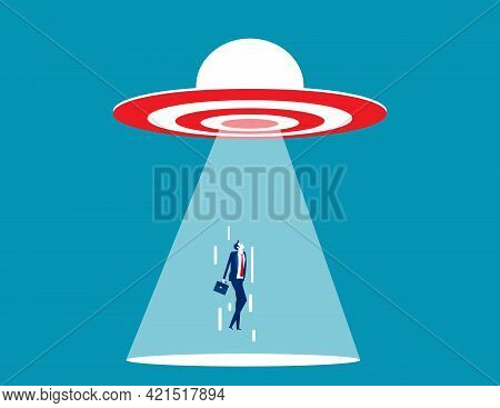 Ufo Target Are Sucking People Into The Spacecraft
