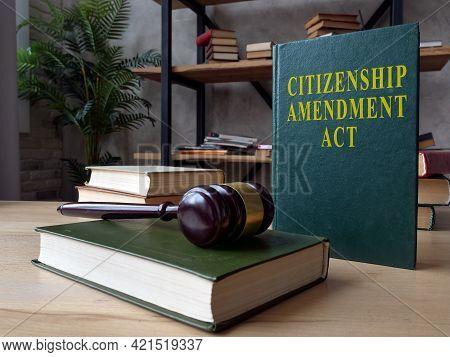 Green Book With Citizenship Amendment Act Caa.