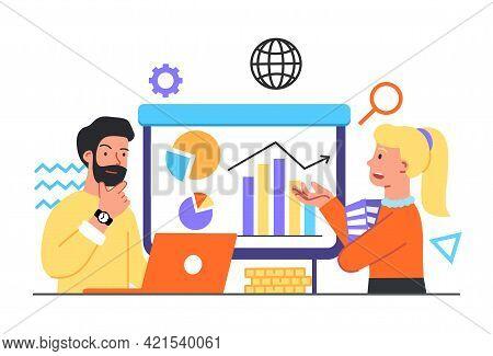 Market Statistics Analysis, Identify Business Needs, Marketing Development, Determine Solutions, Dat
