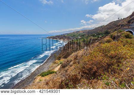 View On Surf Beach Playa Del Socorro, Tenerife