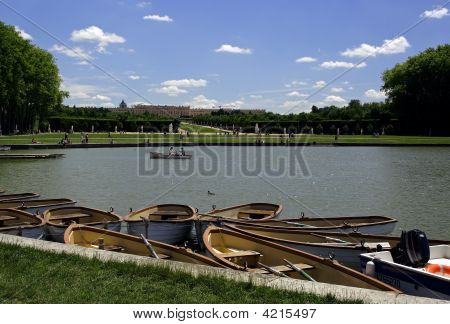 Midday In The Garden Of Versailles