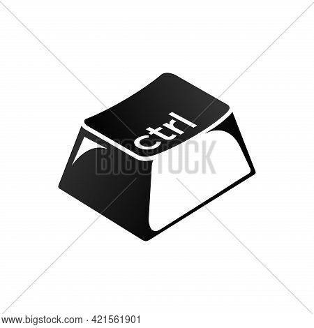 Ctrl Keys On The Keyboard. Control The Key Combination. Insert A Keyboard Shortcut For Windows Devic