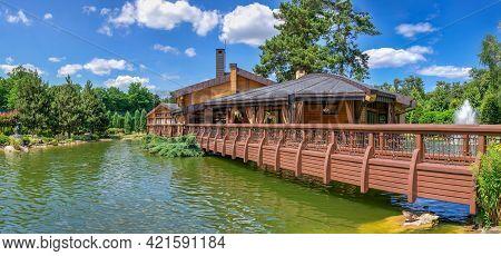 Bath Complex In Mezhyhirya Residence, Ukraine