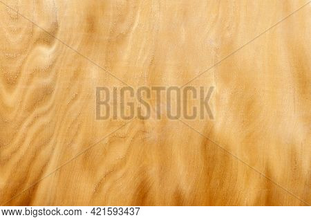 Wood Grain On Plywood. Plywood Texture With Natural Wood Pattern