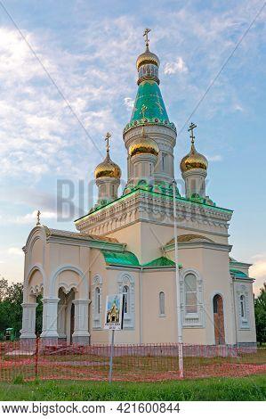 Banstol, Serbia - July 02, 2020: Temple Of Mary Magdalene On Banstol In Fruska Gora, Serbia.
