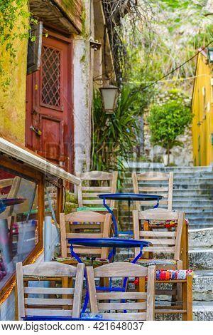 Rustic Style Bar, Plaka District, Athens Greece