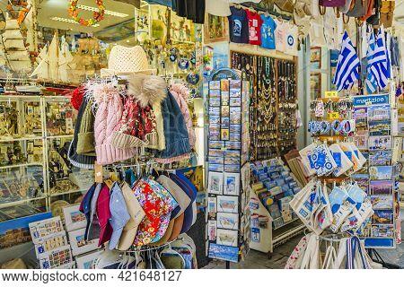 Souvenirs Shop, Plaka District, Athens Greece