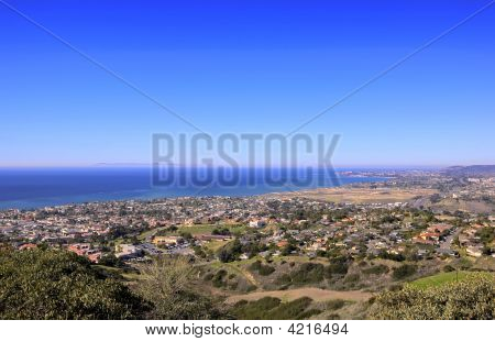 San Clemente Hills Looking Towards Dana Point