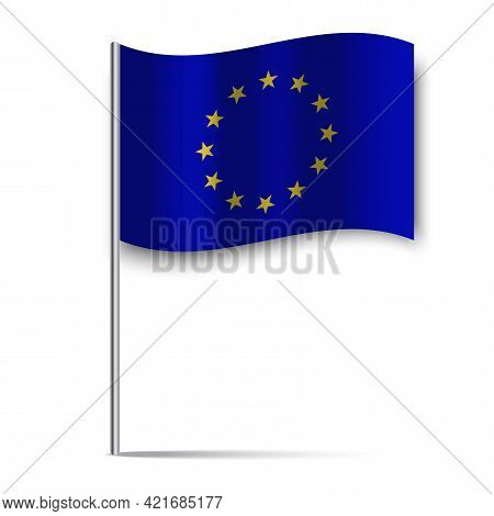 Eu Flag, Great Design For Any Purposes. National Flag. Vector Illustration. Stock Image.