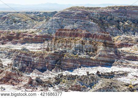 hoodoos formation in the Utah desert, USA.