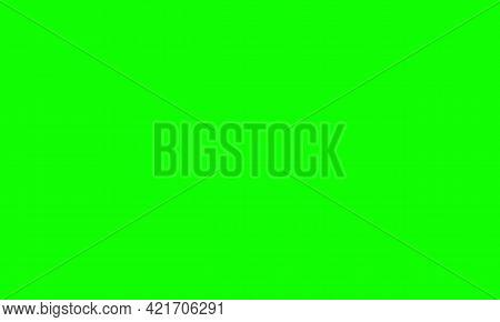 Green Screen Chroma Key Background. Vector Stock Illustration