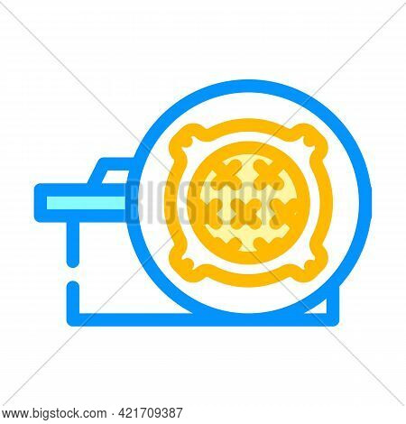 Concrete Products, Sewer Hatches Building Material Color Icon Vector. Concrete Products, Sewer Hatch