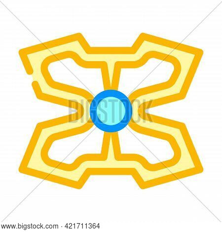 Stimulant Gadget Color Icon Vector. Stimulant Gadget Sign. Isolated Symbol Illustration