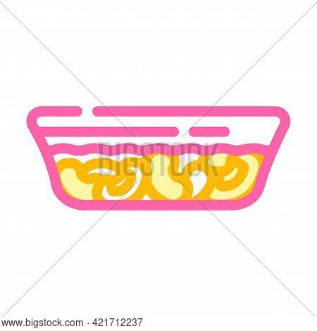 Fabada Spain Food Color Icon Vector. Fabada Spain Food Sign. Isolated Symbol Illustration
