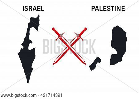 War Between Israel And Palestine Maps Of Israel And Palestine Conflict In 2021