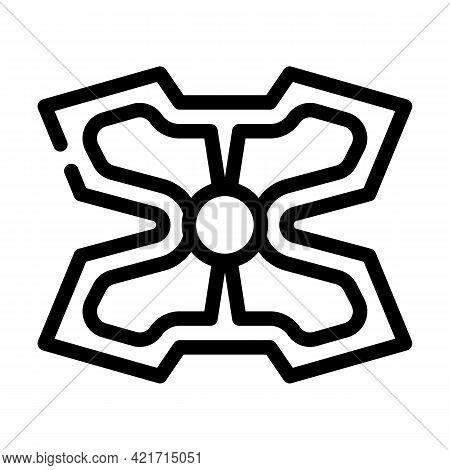 Stimulant Gadget Line Icon Vector. Stimulant Gadget Sign. Isolated Contour Symbol Black Illustration
