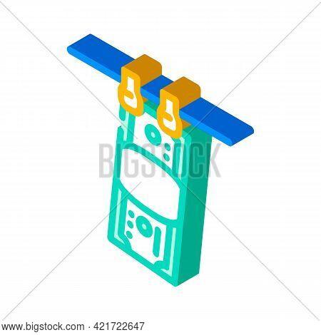 Money Laundered Isometric Icon Vector. Money Laundered Sign. Isolated Symbol Illustration