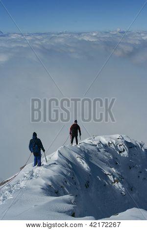 Winter Climbers