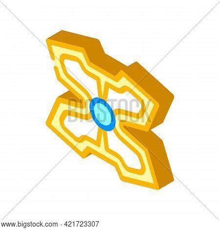 Stimulant Gadget Isometric Icon Vector. Stimulant Gadget Sign. Isolated Symbol Illustration