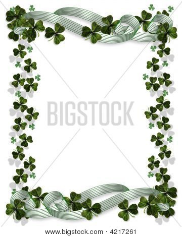St Patrick'S Day Border