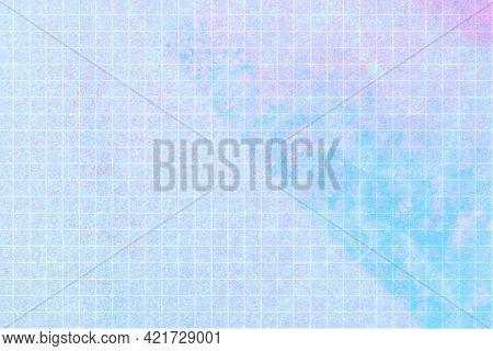 Colorful grid pastel patterned background