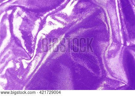 Shiny purple linen textured background