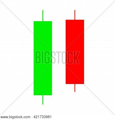 Candle Stick Graph Trading Chart To Analyze The Trade In The Foreign Exchange And Stock Market. Bear