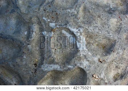 Crumpled Metallic Texture.