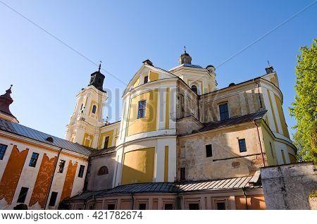View Of Ancient Saint Ignatius Of Loyola And Stanislaus Kostka Church (former Jesuit Collegium). Jes