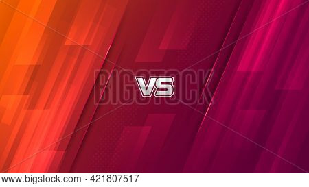 Modern Versus Background For Game Battle Display