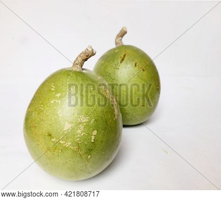 Bel Patthar Or Bell Stone Fruite Is Used In India As A Medicinal Plant Fruit Its English Name Is Aeg