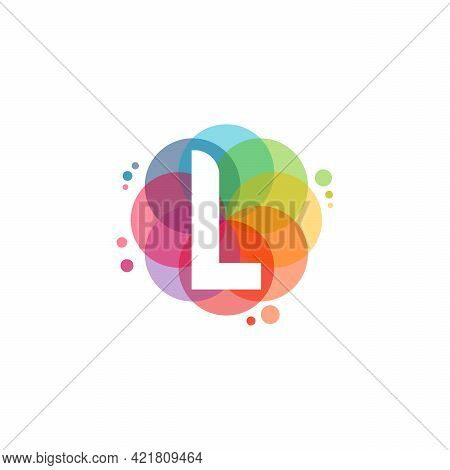 Abstract L Initial Logo Designs Concept Vector, Colorful Letter L Logo Designs