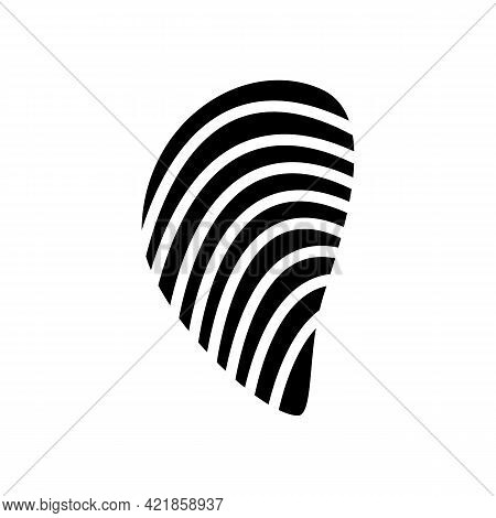 Mussels Ocean Glyph Icon Vector. Mussels Ocean Sign. Isolated Contour Symbol Black Illustration