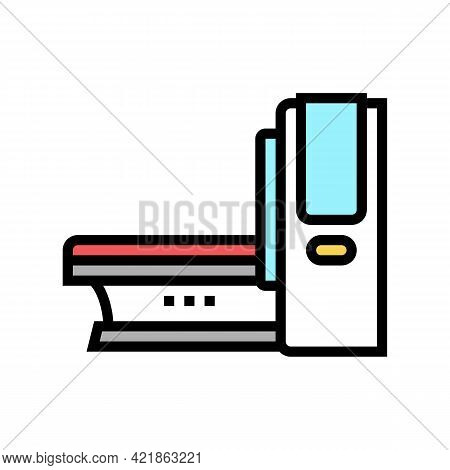 Mri Medical Equipment Color Icon Vector. Mri Medical Equipment Sign. Isolated Symbol Illustration