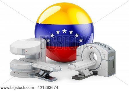Mri And Ct Diagnostic, Research Centres In Venezuela. Mri Machine And Ct Scanner With Venezuelan Fla