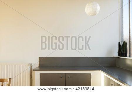 interior loft, detail kitchen