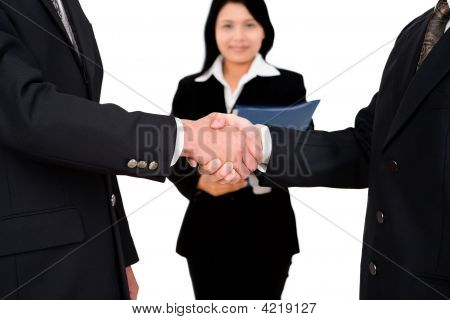 Shake Hands With Witness