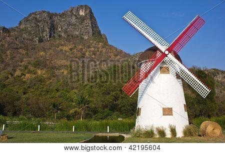 Swiss Sheep Farm Windmill10