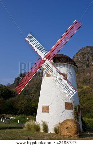 Swiss Sheep Farm Windmill5