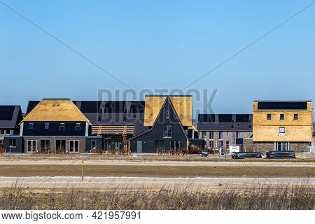 Newly Build Modern And Sustainable Dutch Houses