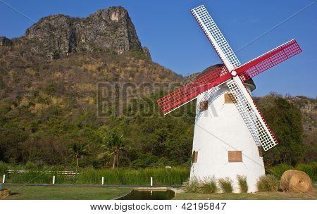 Swiss Sheep Farm Windmill8