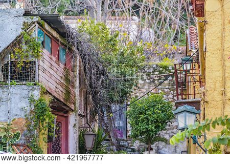 Rustic Buildings, Plaka District, Athens