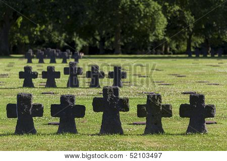 German Cemetery, La Cambe, Normandy, France