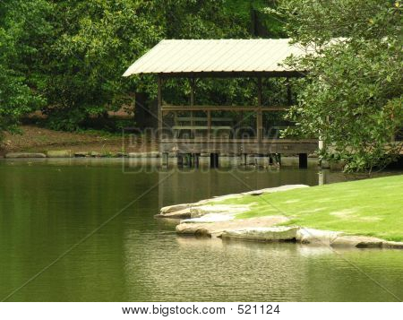 Boat House And Deck