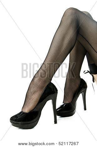Legs in High Heels
