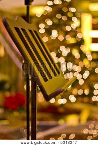 Pupitre à l'arbre de Noël