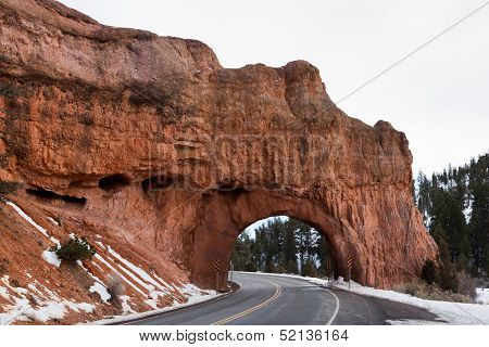 Natural Sandstone Bridge